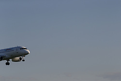 May 27, 2017 - The Sukhoi Superjet-100 civil jet airplane of Yamal arrives at Domodedovo airport, Moscow Region, Russia  (Credit Image: © Russian Look via ZUMA Wire)