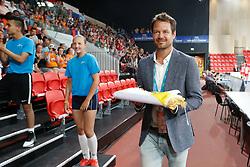 20170617 NED: FIVB Volleybal World League 2017 The Netherlands - Slovakia: Den Haag <br />Reinder Nummerdor <br />&copy;2017-FotoHoogendoorn.nl / Pim Waslander