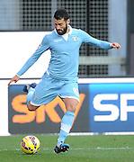 Udine, 15 febbraio 2015<br /> Serie A 2014/15. 23^ giornata.<br /> Stadio Friuli.<br /> Udinese vs Lazio<br /> Nella foto: l'centrocampista della Lazio Antonio Candreva.<br /> © foto di Simone Ferraro
