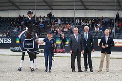 Sanavio Riccardo, ITA, Dark President<br /> Longines FEI/WBFSH World Breeding Dressage Championships for Young Horses - Ermelo 2017<br /> © Hippo Foto - Dirk Caremans<br /> 06/08/2017