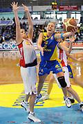 DESCRIZIONE : Faenza Lega A1 Femminile 2008-09 Coppa Italia Semifinale Cras Basket Taranto Lavezzini Parma <br /> GIOCATORE : Francesca Zara<br /> SQUADRA : Lavezzini Parma<br /> EVENTO : Campionato Lega A1 Femminile 2008-2009 <br /> GARA : Cras Basket Taranto Lavezzini Parma<br /> DATA : 07/03/2009 <br /> CATEGORIA : super tiro<br /> SPORT : Pallacanestro <br /> AUTORE : Agenzia Ciamillo-Castoria/M.Marchi<br /> Galleria : Lega Basket Femminile 2008-2009 <br /> Fotonotizia : Faenza Campionato Italiano Femminile Lega A1 2008-2009 Coppa Italia Semifinale Cras Basket Taranto Lavezzini Parma<br /> Predefinita : si