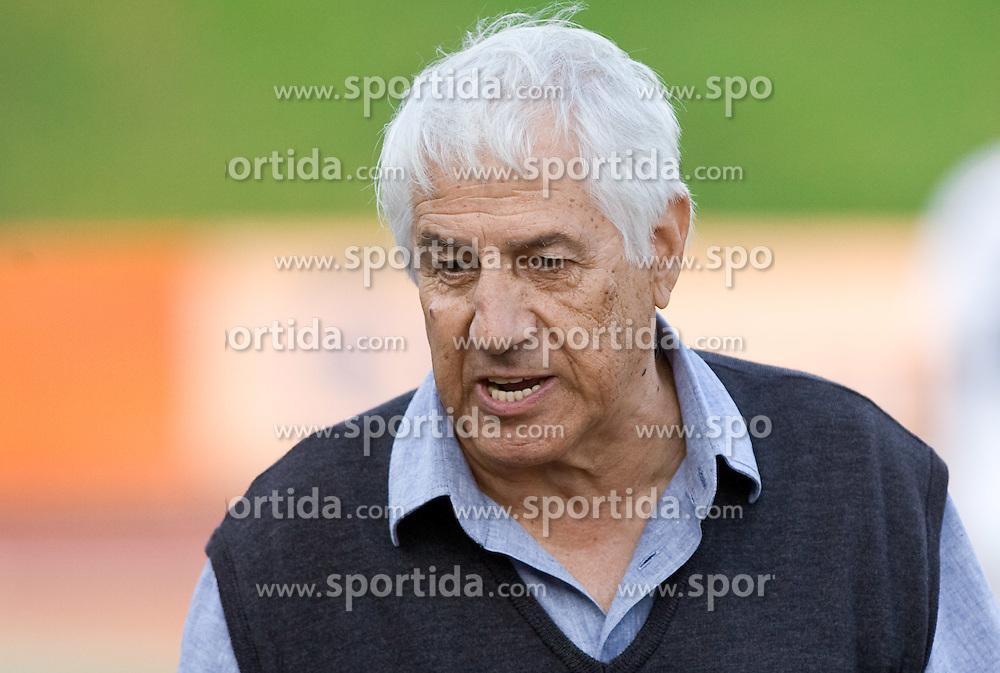 Coach of Gorica David Persic at the football match Olimpija vs Hit Gorica in 11th Round of Prva liga 2009 - 2010,  on September 27, 2009, in ZSD Ljubljana, Ljubljana, Slovenia.  (Photo by Vid Ponikvar / Sportida)
