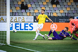Roko Baturina of Bravo misses a great goal chance during football match between NK Maribor and NK Bravo in 25th Round of Prva liga Telekom Slovenije 2019/20, on March 7, 2020 in Ljudski vrt, Maribor, Slovenia. Photo by Blaž Weindorfer / Sportida