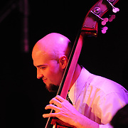 Bassist and PMAC faculty member Nathan Therrien performs in Jazz Night 2012 at The Loft in Portsmouth, NH