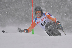 de LANGEN Niels LW12-2 NED at 2018 World Para Alpine Skiing World Cup slalom, Veysonnaz, Switzerland