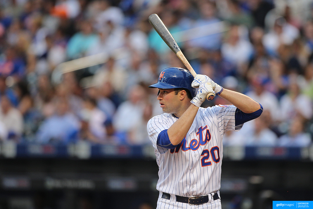 NEW YORK, NEW YORK - June 16: Neil Walker #20 of the New York Mets batting during the Pittsburgh Pirates Vs New York Mets regular season MLB game at Citi Field on June 16, 2016 in New York City. (Photo by Tim Clayton/Corbis via Getty Images)