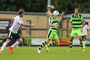 Forest Green Rovers Marcus Kelly (10) controls the ball during the Vanarama National League match between Forest Green Rovers and Bromley FC at the New Lawn, Forest Green, United Kingdom on 17 September 2016. Photo by Shane Healey.