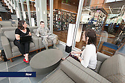 Students use the learning resources and study areas at the Jerry Falwell Library.