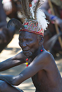 An elderly Pokot warrior in northern Kenya.