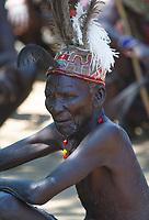 An elderly Pokot warrior in northern Kenya.