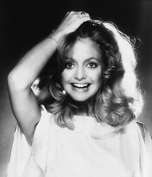 Jan. 1, 1980 - Goldie Hawn Smiling, Studio Portrait, Circa 1980 (Credit Image: © Glasshouse/ZUMAPRESS.com)