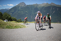 The Mortirolo was the featured climb on Stage Five as the race headed into the mountains.