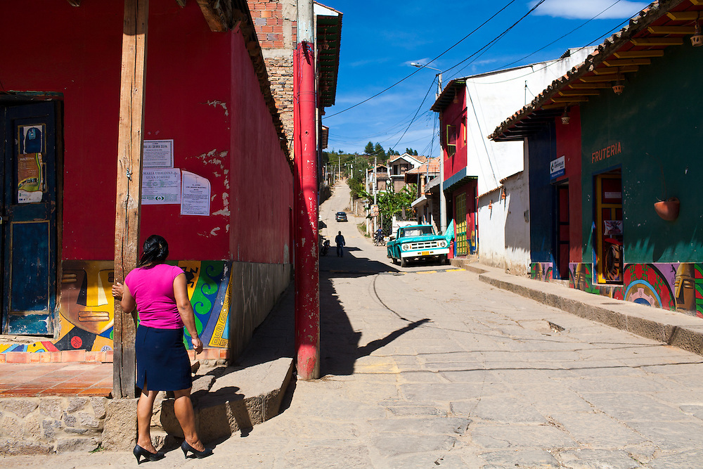 In the Boyaca district of the Colombian heartland