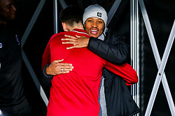 Bobby Reid of Fulham catches up with former Bristol City teammate Callum O'Dowda of Bristol City - Rogan/JMP - 07/12/2019 - Craven Cottage - London, England - Fulham v Bristol City - Sky Bet Championship.