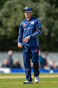 Scotland cricketer George Munsey in the field during the One Day International match between Scotland and Afghanistan at The Grange Cricket Club, Edinburgh, Scotland on 10 May 2019.