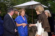 Duchess of Rutland. Cartier dinner after thecharity preview of the Chelsea Flower show. Chelsea Physic Garden. 23 May 2005. ONE TIME USE ONLY - DO NOT ARCHIVE  © Copyright Photograph by Dafydd Jones 66 Stockwell Park Rd. London SW9 0DA Tel 020 7733 0108 www.dafjones.com