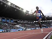Jun 16, 2019; Rabat, Morocco; Eduard Pingua Zakayo (KEN) wins the 5,000m in 13:11.49 during the Meeting International Mohammed VI d'Athletisme de Rabat at Prince Moulay Abdellah Stadium.