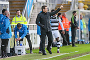 Forest Green Rovers manager, Mark Cooper during the Vanarama National League match between Torquay United and Forest Green Rovers at Plainmoor, Torquay, England on 26 December 2016. Photo by Shane Healey.