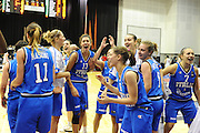 Cile 22/07/2011<br /> Campionato Mondiale Femminile U19<br /> Italia-Cina<br /> nella foto: team nazionale <br /> foto ciamillo-castoria