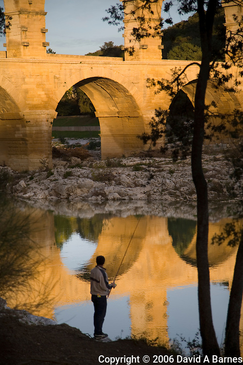 Pont du Gard, Gard, Languedoc, France