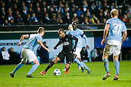 25.11.2015. Malmö, Sweden. <br /> Lucas of Paris in action during the UEFA Champions League match at the Malmö New Stadium. <br /> Photo: © Ricardo Ramirez.