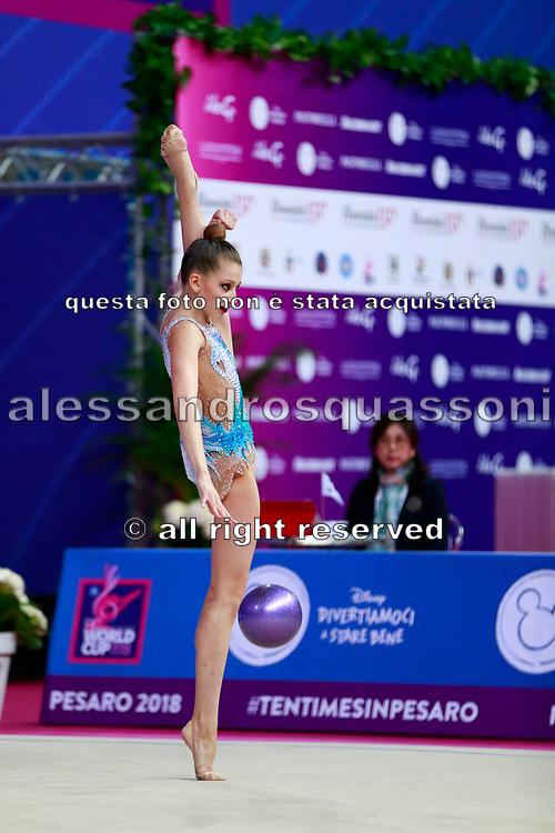 Crijanovschii Ella is a rhythmic gymnastics athlete from Moldova.