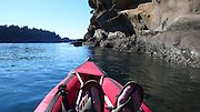 Kayaking, Sucia Island, San Juan Islands, Washington State