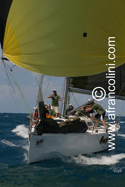 SAILING - Hahn Premium Race Week 2004 / Hamilton Island, QLD (AUS) - Day 6 - EASY TIGER - 27/08/04 - Photo: Andrea Francolini