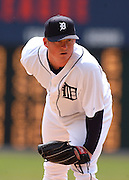 Apr 11, 2006; Detroit, MI, USA:  Detroit Tiger pitcher Jeremy Bonderman, Comerica Park vs. Chicago White Sox.