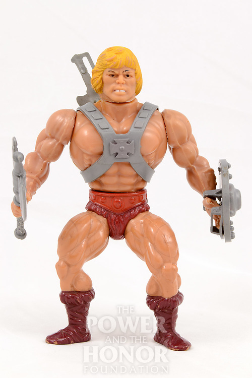 First Editon variant 2, soft head, yellow hair, unpainted armor, small legs, small arms, no-copyright