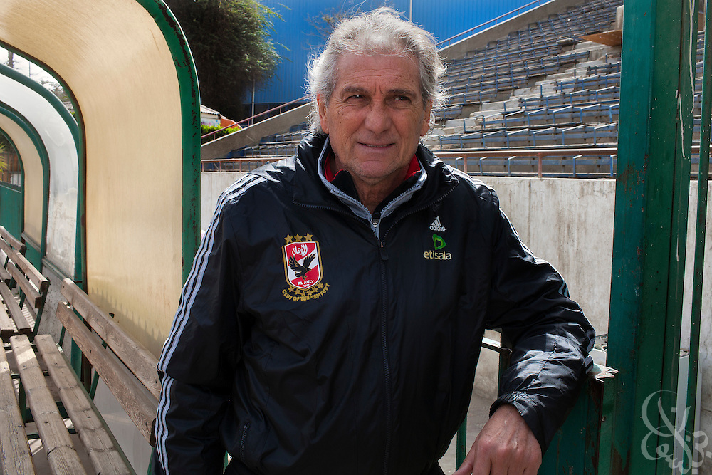 Manuel Jose, the Portuguese Coach of the Egyptian football team Al-Ahly poses for a portrait February 17, 2012 in Cairo, Egypt. Jose returned to Egypt Feb 16 to resume his job of coach of Al-Ahly in the wake of post-football match violence February 2nd, 2012 that killed 74 and injured hundreds more in the Port Said, Egypt stadium.  (Photo by Scott Nelson)
