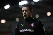 Lewis Price (Rotherham United) during the EFL Sky Bet Championship match between Rotherham United and Brighton and Hove Albion at the AESSEAL New York Stadium, Rotherham, England on 7 March 2017. Photo by Mark P Doherty.