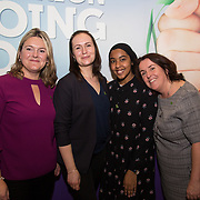 10.10. 2017.          <br /> Pictured at the Limerick Going for Gold 2017 finals in the Strand Hotel wereJayne Power, Curate Andrijauskine, Minnat Saeed and Sinead McDonnell, Limerick City and County Council.<br /> <br /> <br /> Limerick Going for Gold, which is sponsored by the JP McManus Charitable Foundation, has a total prize pool of over €75,000.  It is organised by Limerick City and County Council and supported by Limerick's Live 95FM, The Limerick Leader and The Limerick Chronicle, The Limerick Post, Parkway Shopping Centre, I Love Limerick and Southern Marketing Media & Design. Picture: Alan Place
