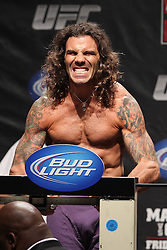 Atlantic City, NJ - June 21, 2012: Clay Guida at the weigh-ins for UFC on FX 4 at Ovation Hall at Revel Resort & Casino in Atlantic City, New Jersey.