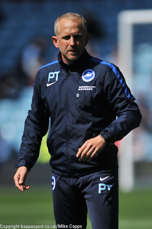 PAUL TROLLOPE ASSISTANT MANAGER  BRIGHTON AND HOVE ALBION, Aston Villa v Brighton &amp; Hove Albion Sky Bet Championship Villa Park, Brighton Promoted to Premiership Sunday 7th May 2017 Score 1-1 <br /> Photo:Mike Capps