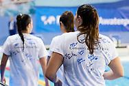 10 Valeria Palmieri ITA<br /> Italy ITA (White cup) Vs Hungary HUN (Blue cup)<br /> Waterpolo Women's FINA Europa Cup<br /> Piscina Monte Bianco - Verona VR<br /> Photo Pasquale Mesiano/ Deepbluemedia /Insidefoto
