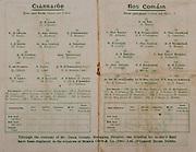 All Ireland Senior Football Final, Kerry v Roscommon, 24.09.1944, 09.24.1944, 24th September 1944, Roscommon 1-09 Kerry 2-04, 24091944AISFCF, ..Kerry, D O'Keeffe, T Healy, J Keohane, T Brosnan, W Dillon, M McCarthy, E Walsh, P Kennedy, S Brosnan, J Clifford, J Lyne, P B Brosnan captain, D Lyne, M Kelly, E Dunne of J O'Gorman, subs, D Kavanagh, W Casey, Lieut E Condon, W O'Donnell, D Burke, G Teehan, W Myers, ..Roscommon, O Hoare, W Jackson, J P O'Callaghan, J Casserley, B Lynch, W Carlos, P Murray, E Boland, L Gilmartin, F Kinlough, J Murray Captain, D Keenan, Dr H Gibbons, Lt J McQuillan, JJ Nerney, subs, Dr D McDermott, M Heavy, P Beasty, P Conlon, F Glynn, J Briens, .