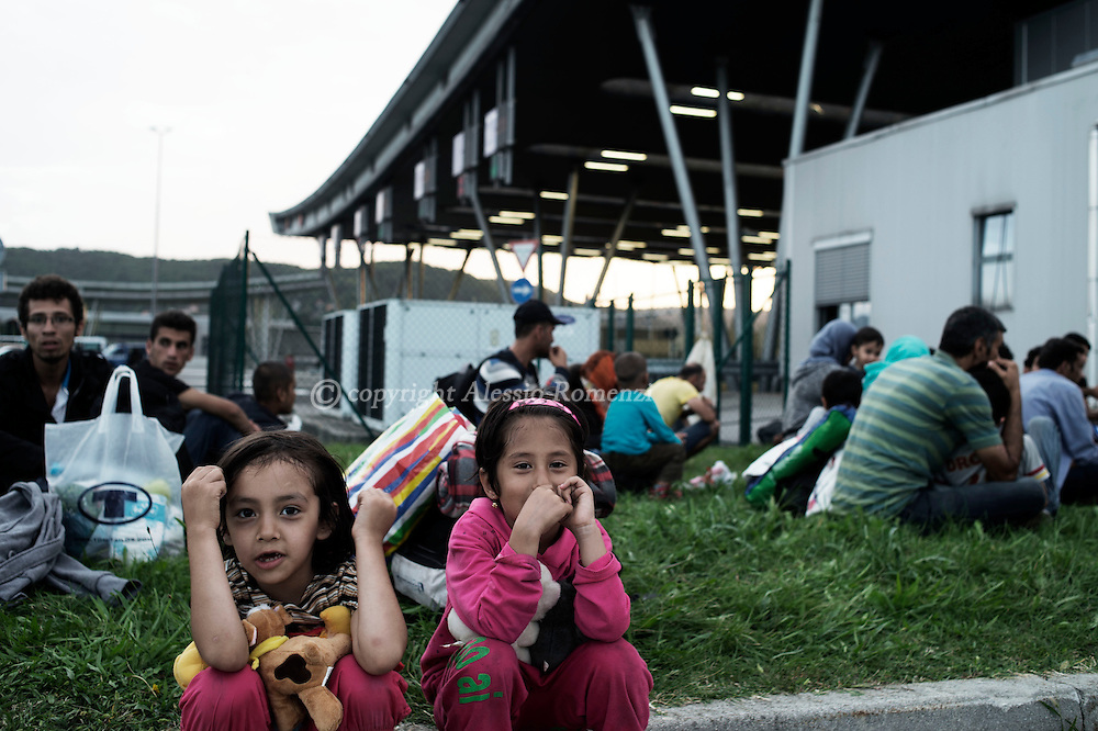 Slovenia: Migrants stuck at the border between Slovenia and Croatia. Alessio Romenzi