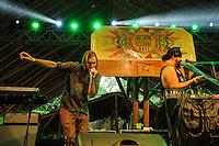 Oka Performing at the SoulShine Festival. Ubud, Bali, Indonesia, 28/12/2013.