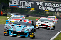 Nick Jones (GBR) / Scott Malvern (GBR)  #66  Ginetta G55 GT4 British GT Championship at Oulton Park, Little Budworth, Cheshire, United Kingdom. May 28 2016. World Copyright Peter Taylor/PSP.