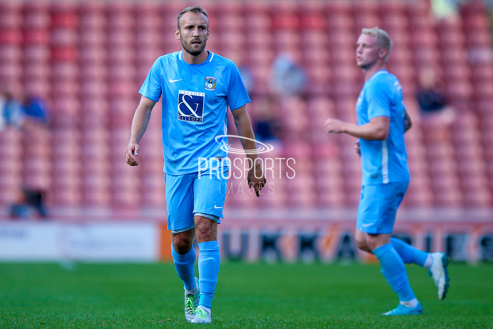 Coventry City defender Liam Kelly (6) in action  during the Pre-Season Friendly match between Barnsley and Coventry City at Oakwell, Barnsley, England on 18 July 2017. Photo by Simon Davies.