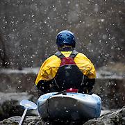 Kayaking shoot