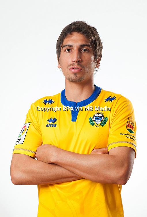 Spain - La Liga Adelante 2014-2015 / <br /> ( A.D. Alcorcon ) - <br /> Facundo Guichon