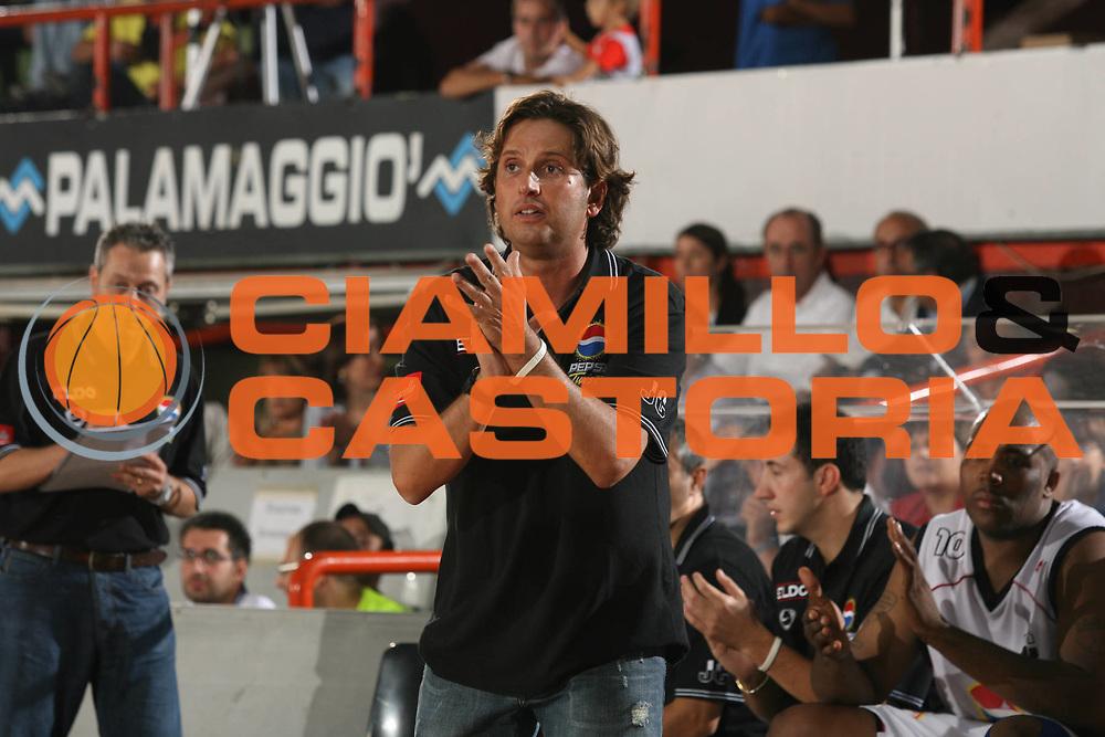 DESCRIZIONE : Caserta Lega A1 2007-08 Torneo Citt&agrave; di Caserta Pepsi caserta Virtus Bologna<br /> GIOCATORE : Andrea Trinchieri <br /> SQUADRA : Pepsi caserta<br /> EVENTO : Campionato Lega A1 2007-2008 <br /> GARA : Pepsi caserta Virtus Bologna<br /> DATA : 15/09/2007 <br /> CATEGORIA : Ritratto<br /> SPORT : Pallacanestro <br /> AUTORE : Agenzia Ciamillo-Castoria/M.Marchi