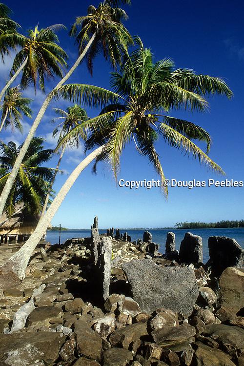 Marae, Huahine, French Polynesia