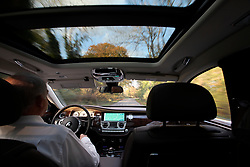 UK ENGLAND LONDON 2NOV17 - Detail of the interior of a brand new Rolls Royce Ghost limousine being driven near Goodwood, Sussex, England.<br /> <br /> jre/Photo by Jiri Rezac<br /> <br /> &copy; Jiri Rezac 2017