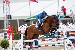 SUGITANI Taizo (JPN), Quincy 194<br /> Hagen - Horses and Dreams 2019<br /> Preis der Pott´s Brauerei GmbH CSI2*<br /> Finale Mittlere Tour<br /> 28. April 2019<br /> © www.sportfotos-lafrentz.de/Stefan Lafrentz