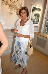 LADY AMABEL LINDSAY at a private view of work entitles 'California' by Nigel Waymouth held at the Park Walk Gallery, 20 Park Walk, London SW3 on 12th July 2006.<br />