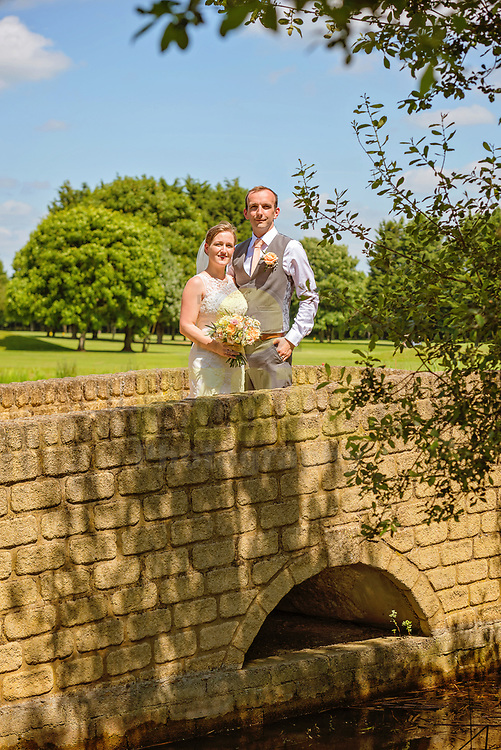 Summer wedding at the Bicester Hotel in Oxfordshire