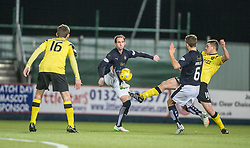 Falkirk's Mark Kerr. Falkirk 2 v 0 Livingston, Scottish Championship game played 29/12/2015 at The Falkirk Stadium.